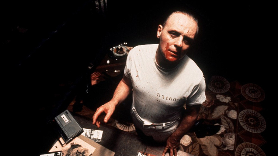The Silence of the Lambs Anthony Hopkins Hannibal Lecter