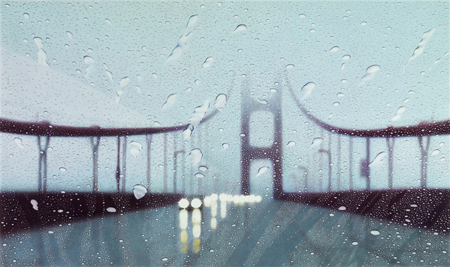 "Elizabeth Patterson, ""Golden Gate Bridge, San Francisco"", 2011."