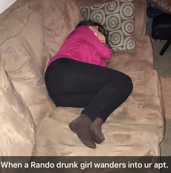 Was specially Sleeping drunk girls something