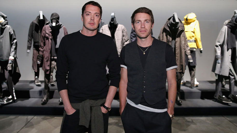 Designers Marcus Wainwright (L) and David Neville. Photo: Neilson Barnard (Getty)