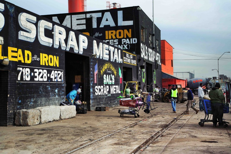 Scrap Metal No. 1: Sal's, 2013. Digital C-print. 20 x 30 inches