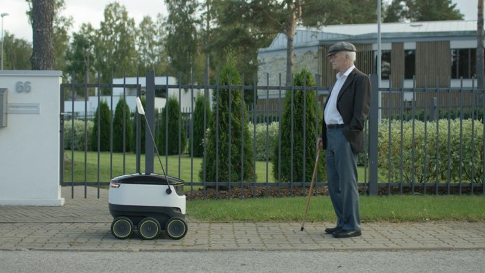 Starship Technologies' delivery bots have been tested in Tallinn and London.