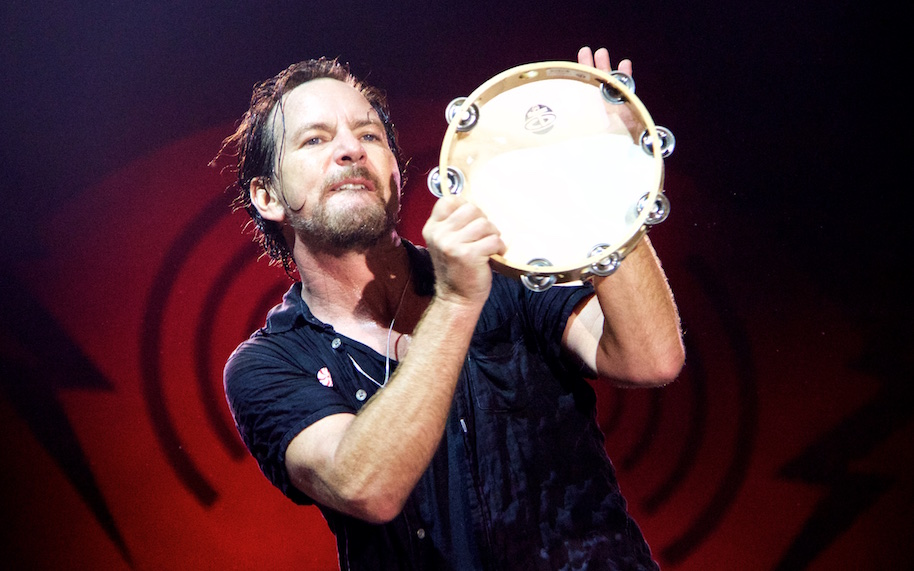 Vedder Tambourine Bonnaroo by Firecloud copy
