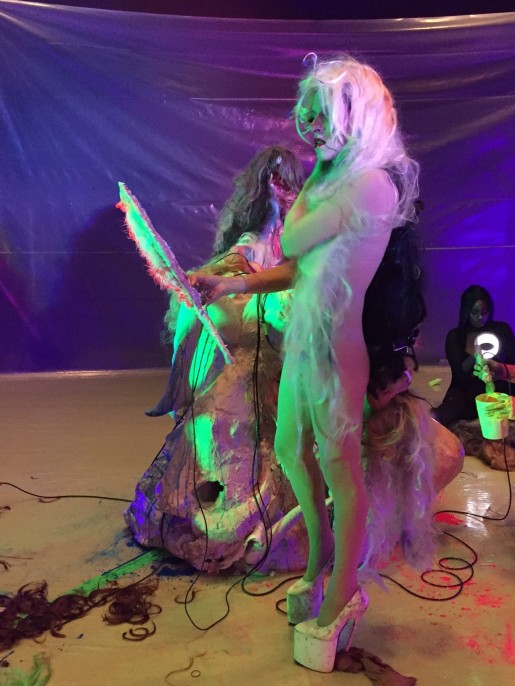 Documentation of Mutant Salon at the Broad