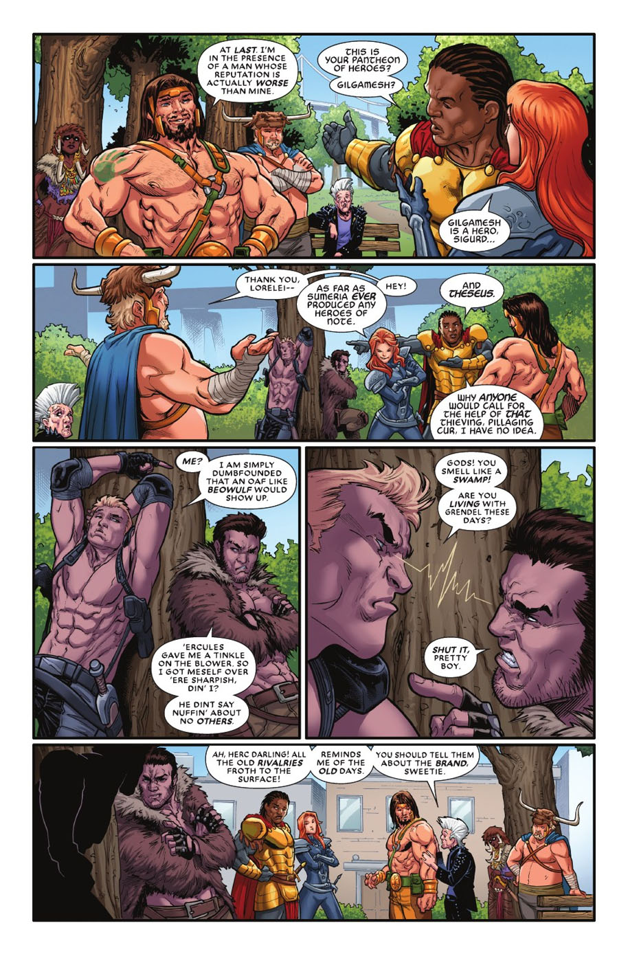 Civil War II Gods of War 2 page 2