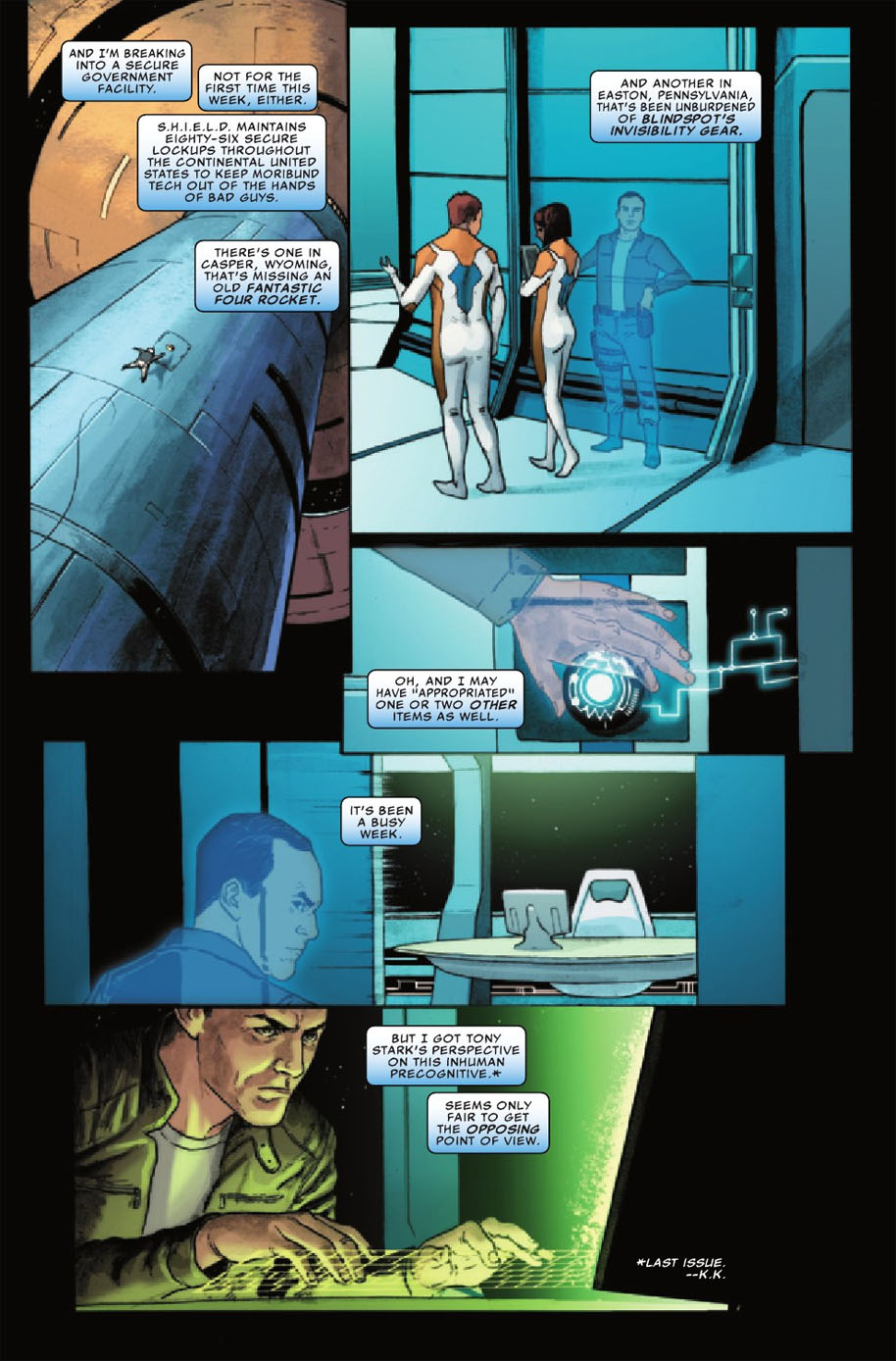 Agents of SHIELD 8 Page 2