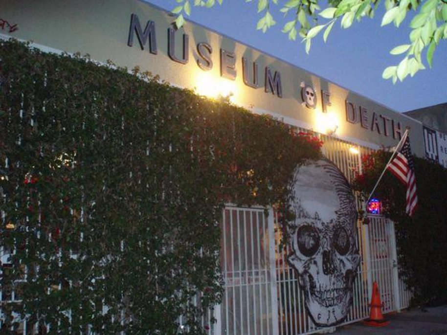 Photo: Museum of Death on Facebook.