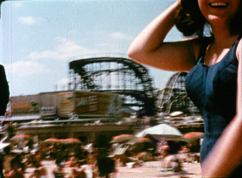Marie Menken, Go! Go! Go! (film still), 1962–1964, 16mm film transferred to Blu-Ray (colour, silent, 12 min.), Courtesy of Anthology Film Archives
