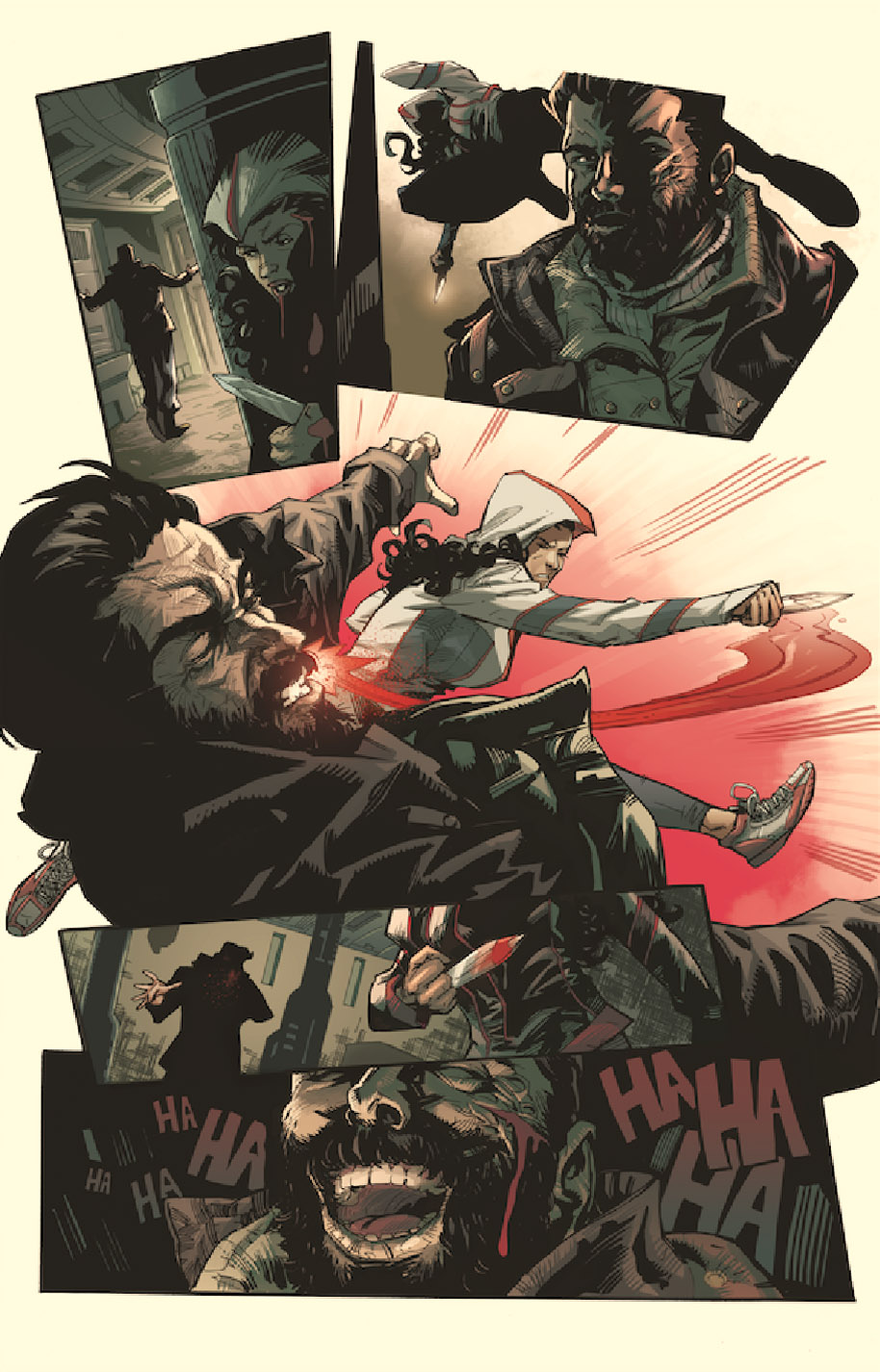 Assassin's Creed 1 Page Preview 2 Jose Holder