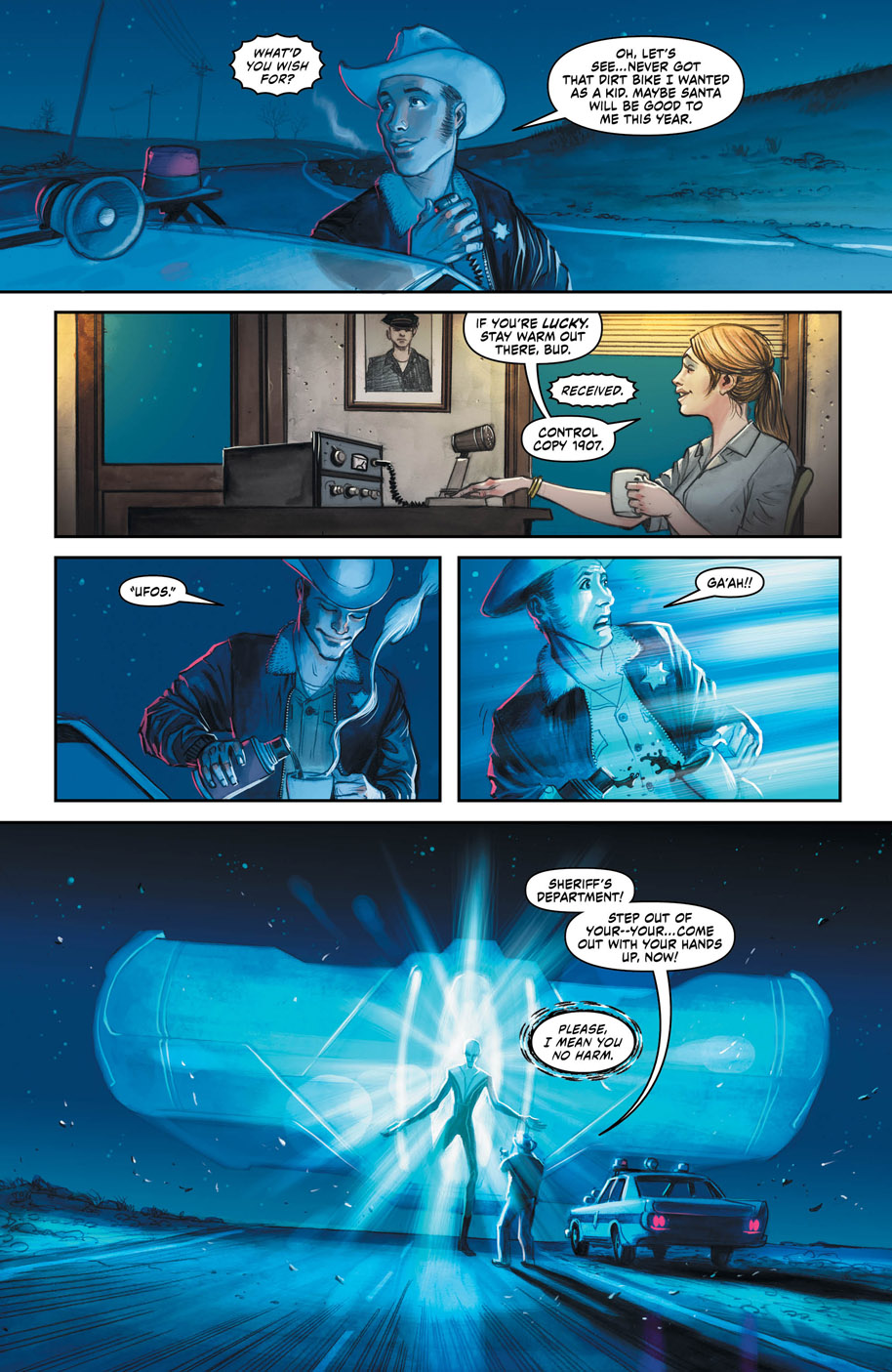 New Talent Showcase Superman page 2