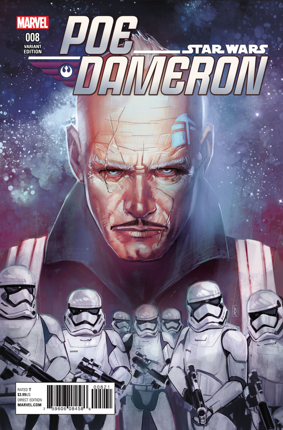Star Wars Poe Dameron 8 varient cover