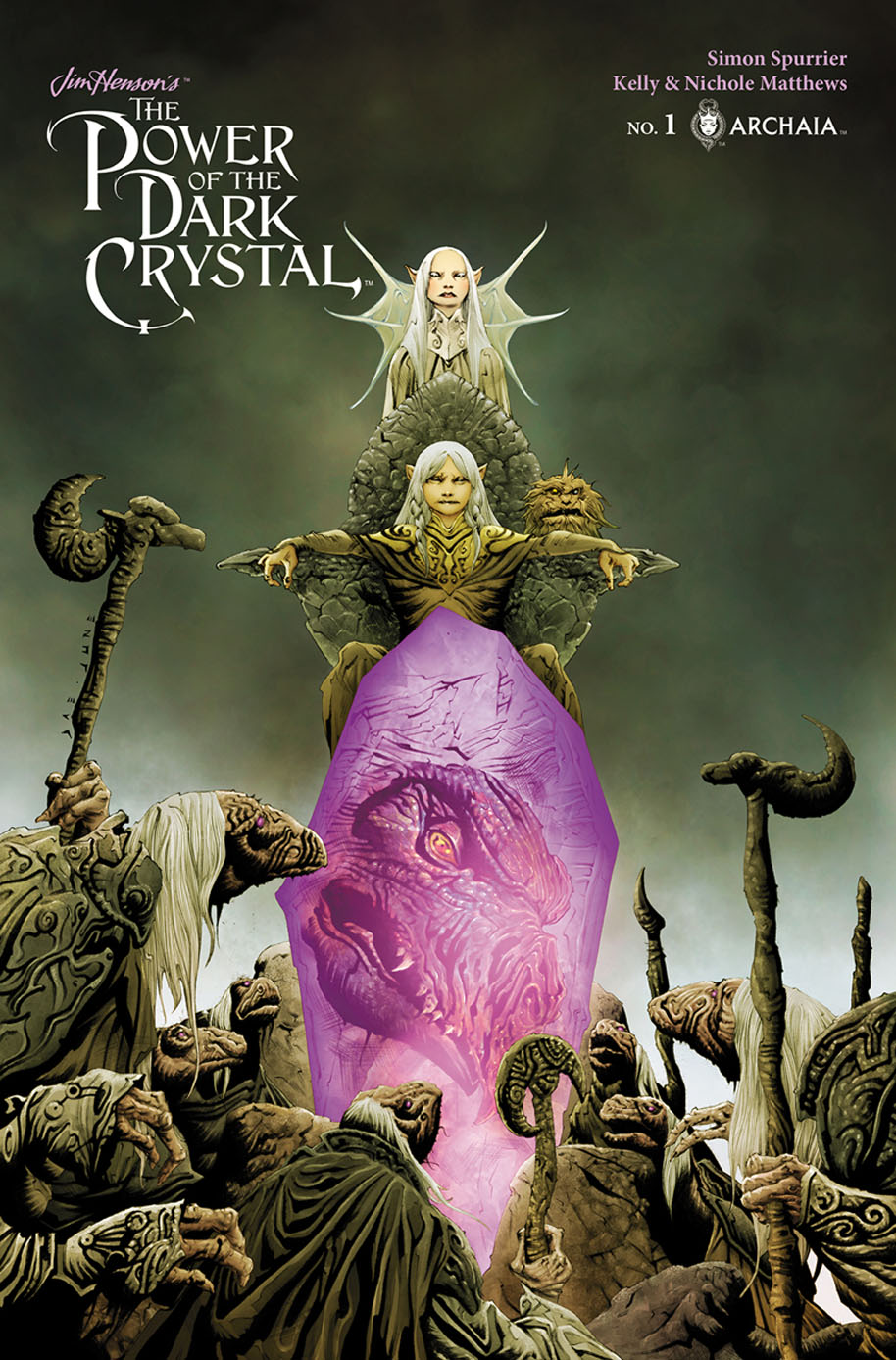 The Power of the Dark Crystal Cover