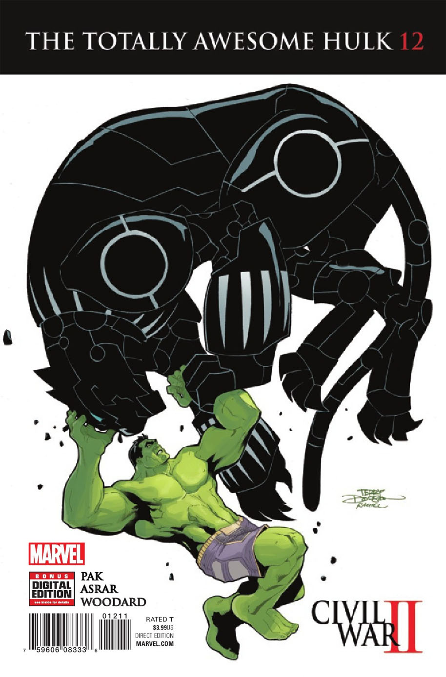 Totally Awesome Hulk 12 cover