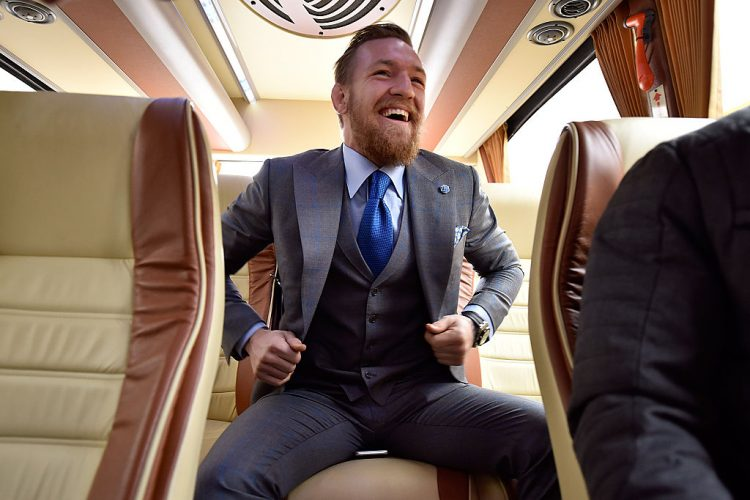 Conor McGregor suit with a vest