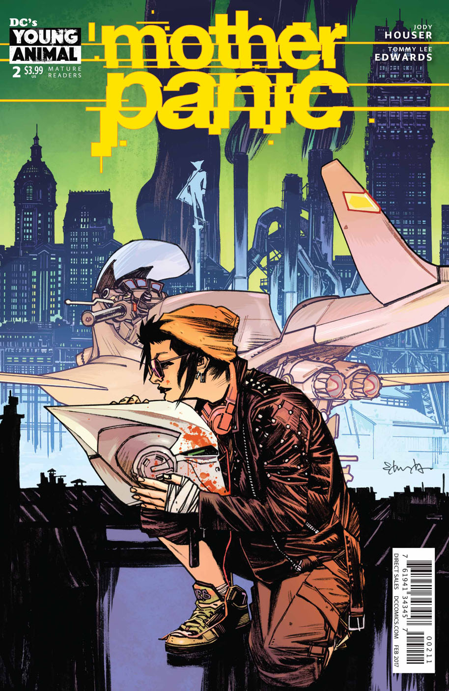 Mother Panic 2 cover
