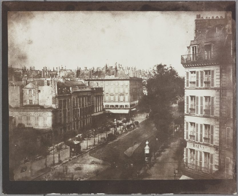 II. View of the Boulevards at Paris, May 1843. National Media Museum / Science & Society Picture Library