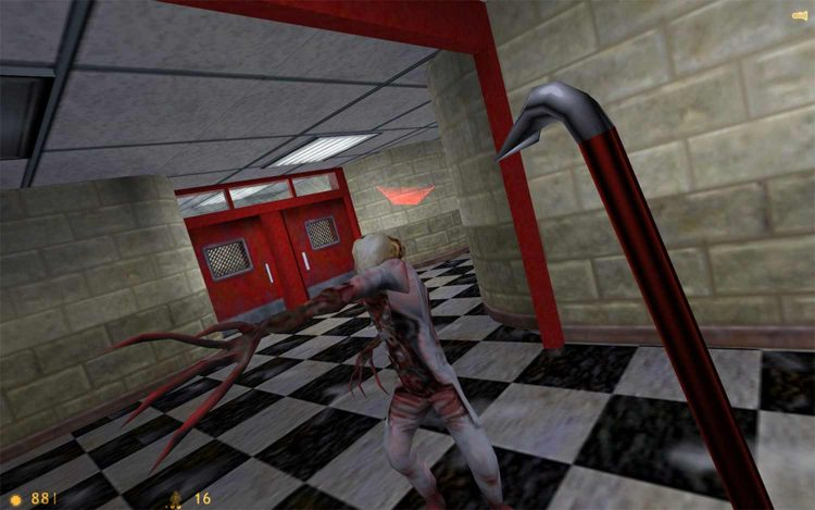 Scariest Video Games Half Life