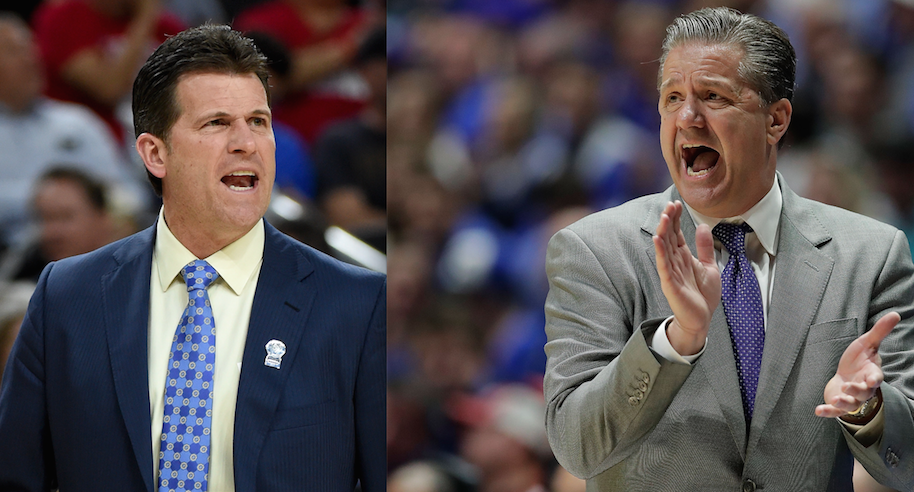 Both UCLA and Kentucky have a solid chance at making a Final Four run solely on their coach's locks. They've so been to Bosley.