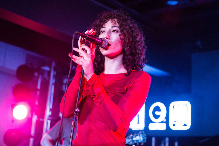 AUSTIN, TX - MARCH 16: Tei Shi performs at the Music Is Universal showcase at Antones on March 16, 2017 in Austin, Texas. (Photo by Lorne Thomson/Redferns)