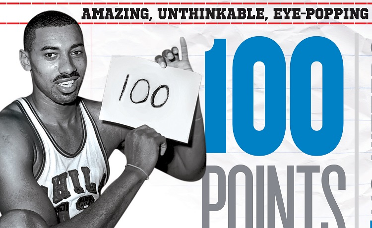 7bf18ba7d46d Wilt Chamberlain Scored 100 Points In A Game 55 Years Ago Today ...