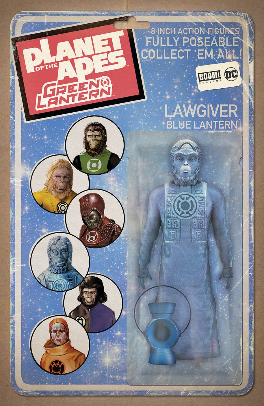 Planet of the Apes Green Lantern 4 Action Figure Variant E