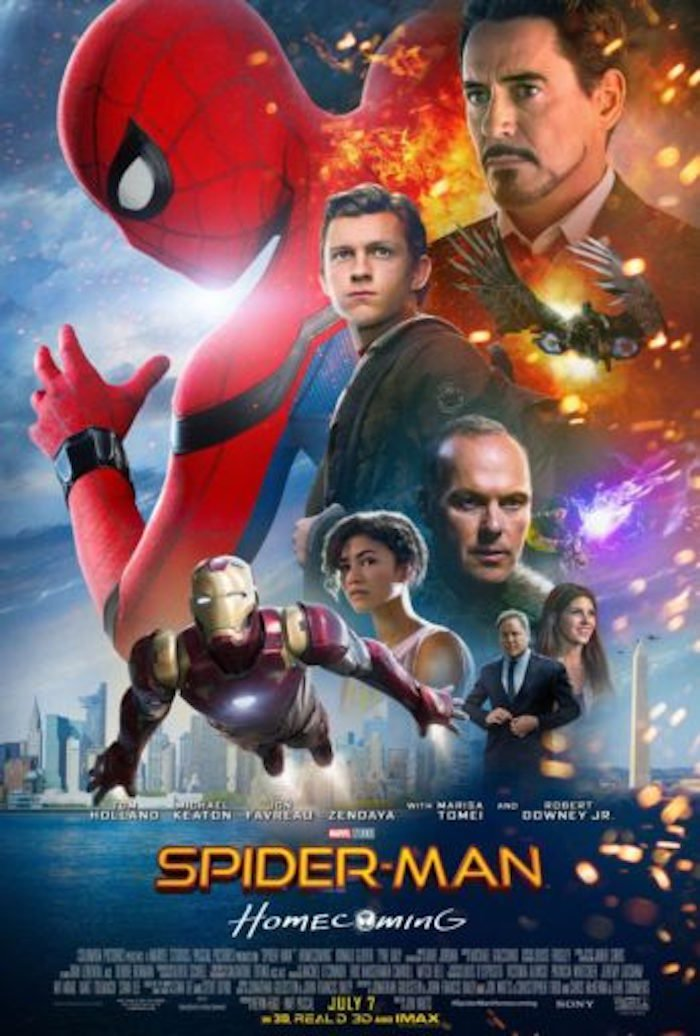 Twitter The New Spider Man Homecoming Poster