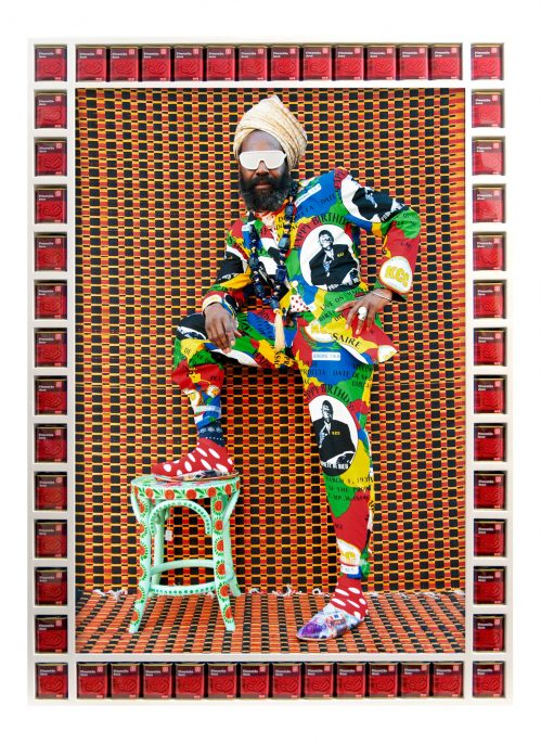 Hassan Hajjaj, Blaize, 2015; from Dandy Lion (Aperture, 2017). © Hassan Hajjaj, Courtesy Taymour Grahne Gallery, New York, U.S.A.