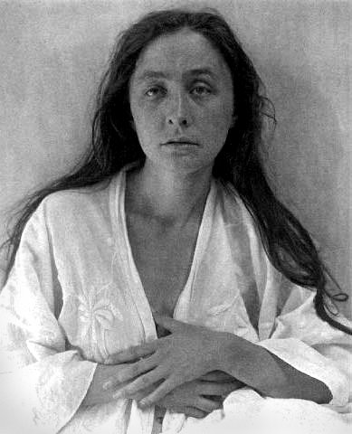 Portrait of Georgia O'Keeffe by Alfred Stieglitz, 1918, courtesy of Wikimedia Commons.