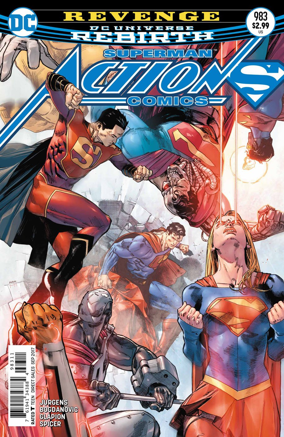 Action Comics 983 cover