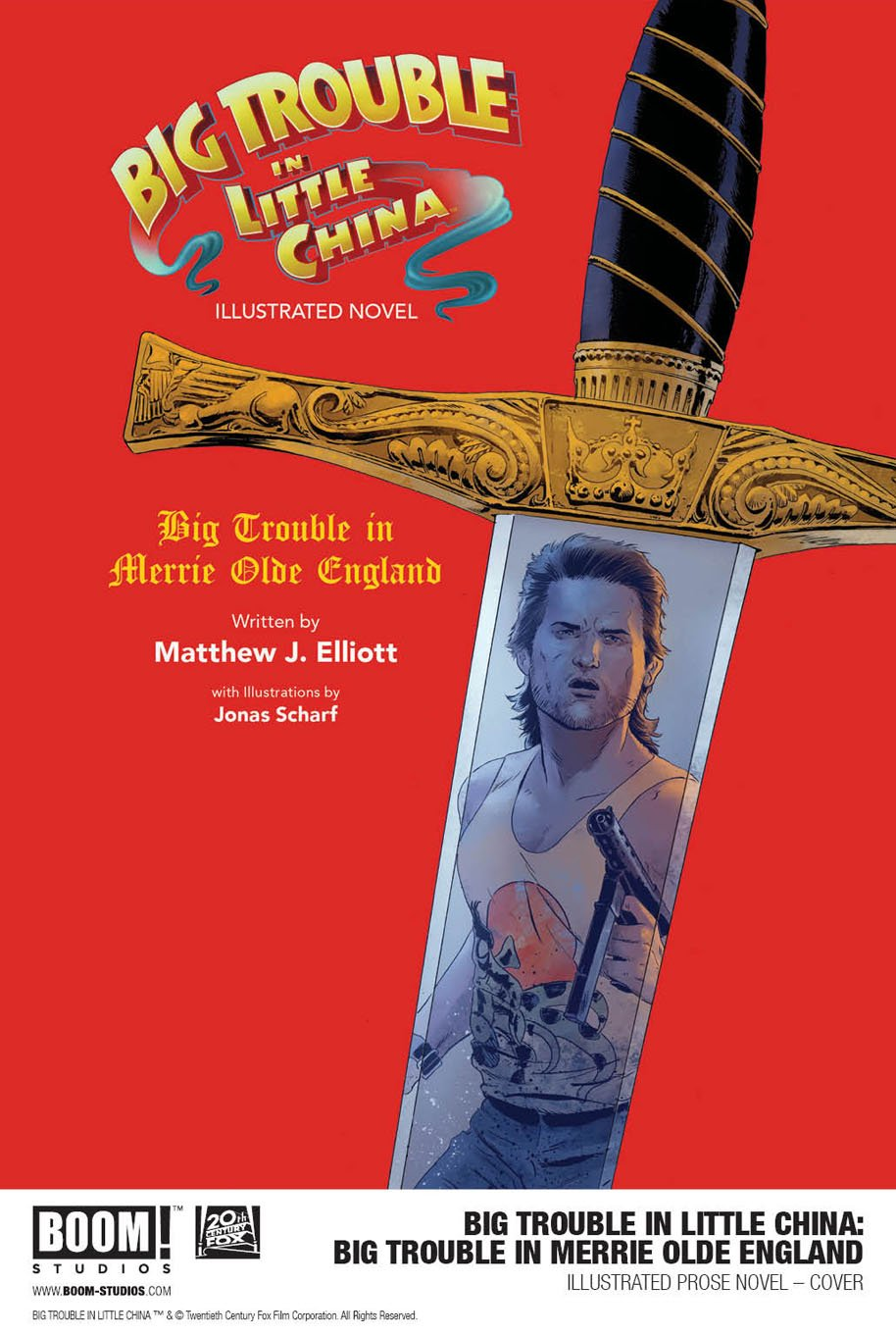 Big Trouble in Merrie Old England cover