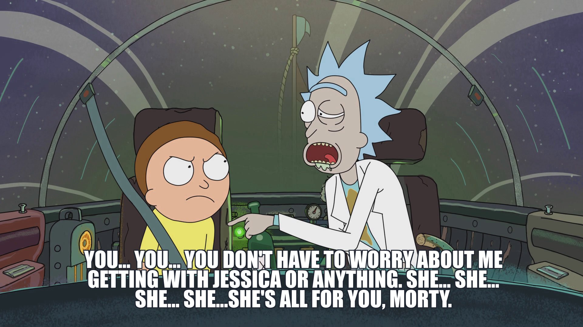rick and morty meme generator master of all science