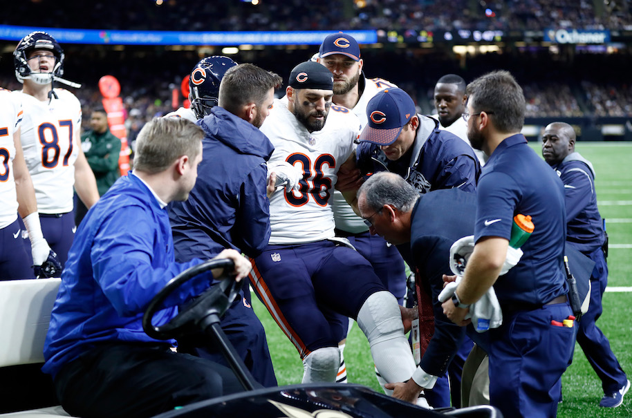 Zach Miller chigago bears injury