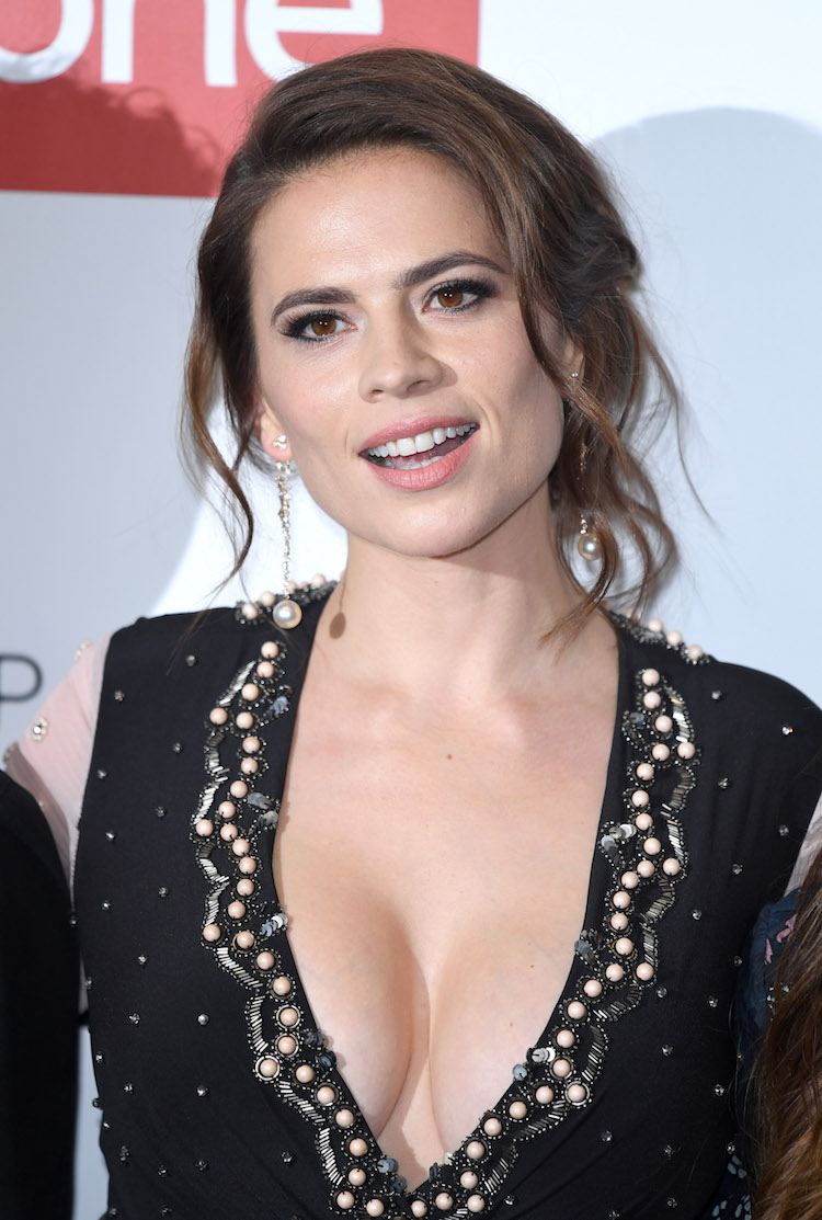 Hayley Atwell Again Puts Her Incredible Cleavage On Display-5564