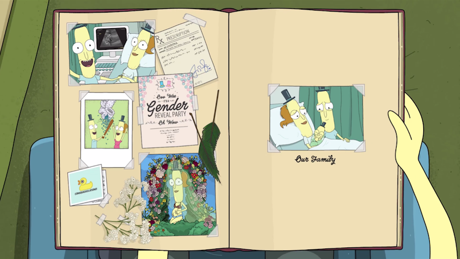 Poopybutthole origins Rick and Morty