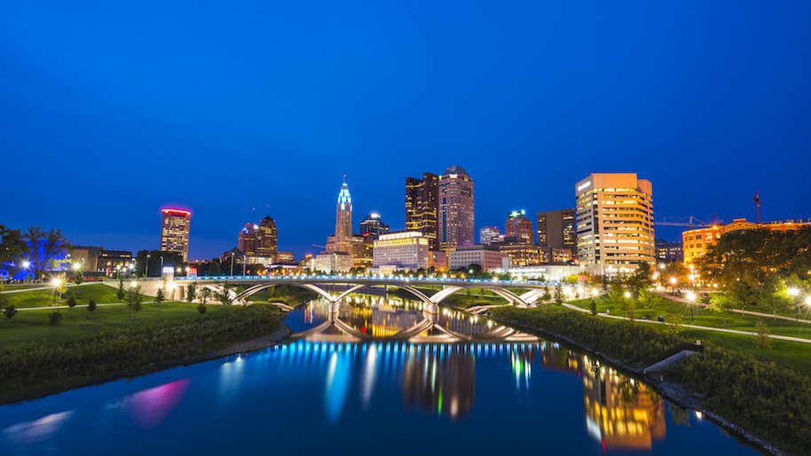 columbus ohio, trending smaller cities, urban overcrowding