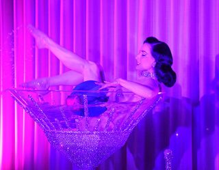 Dita Von Teese Raises The Burlesque Bar On Instagram
