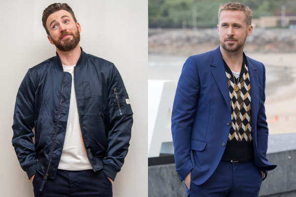 Double Trouble: Chris Evans and Ryan Gosling Team Up For ...