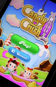 5. Candy Crush or Whatever Candy Crush Adjacent Game You Keep Playing