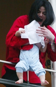 MJ Dangles a Baby Prince Over a Balcony