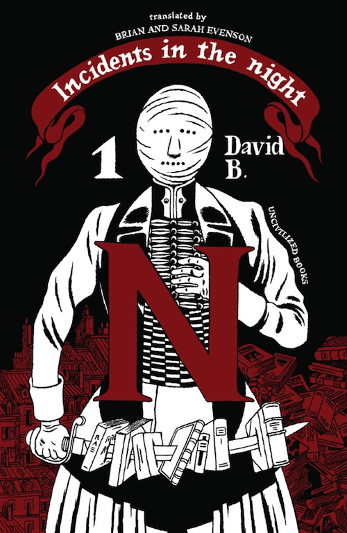 11. INCIDENTS IN THE NIGHT by David B.