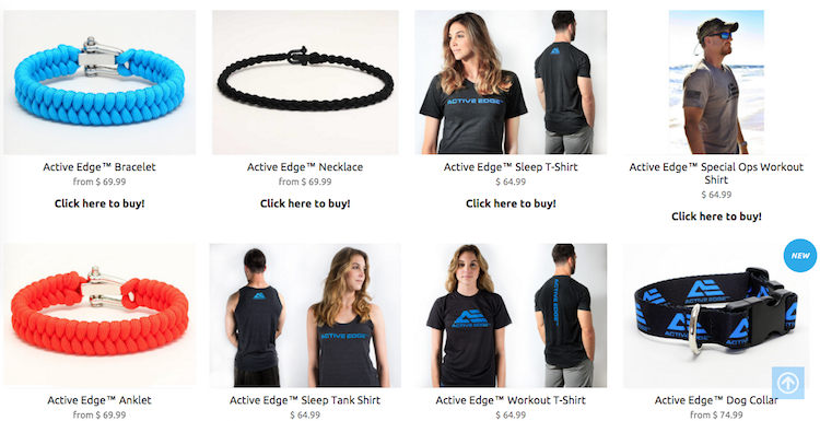 Active Edge Gear