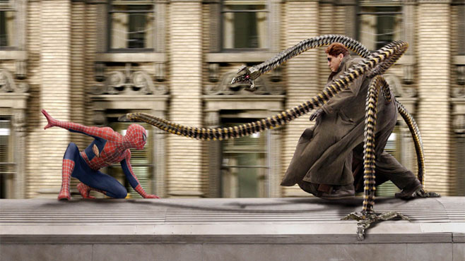 Spider-Man 2 - Best Visual Effects - 2004