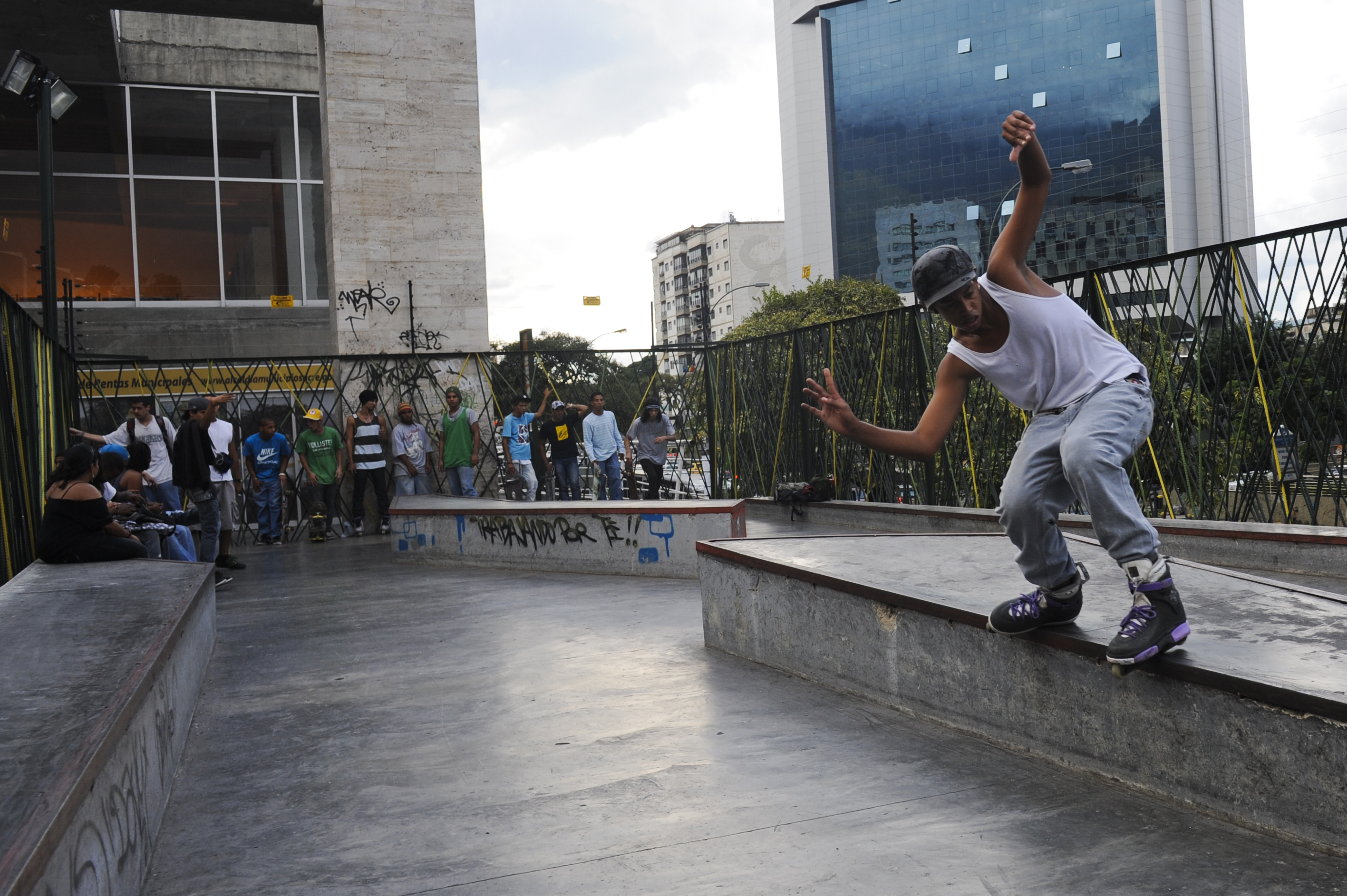 Roller Skate To Church: Venezuela