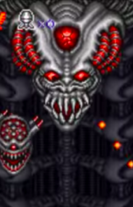 6. Alien Brain, Super Contra 3: Alien Wars