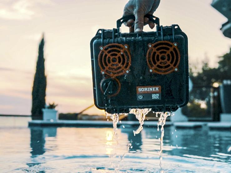 Demerbox Indestructible Waterproof Bluetooth Speaker
