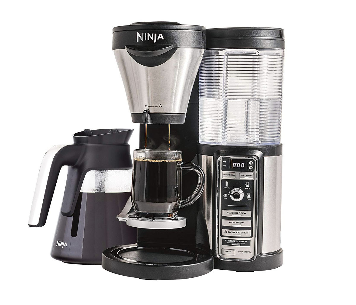 Ninja Coffee Maker for Hot/Iced/Frozen Coffee with Four Brew Sizes