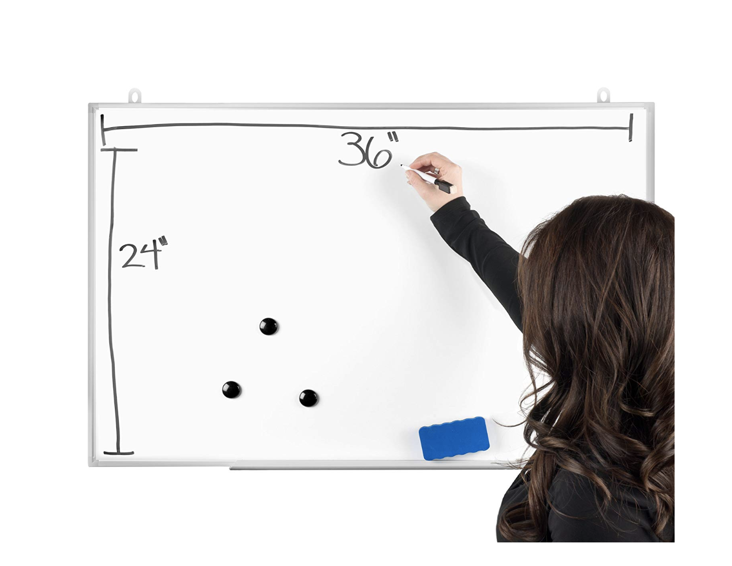 Officeline Magnetic Dry Erase Board & Accessories