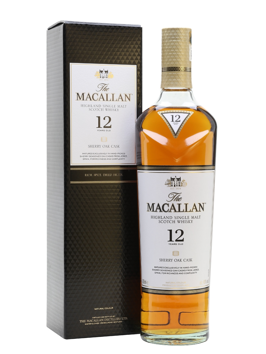The Macallan 12 Highland Single Malt Scotch Whisky