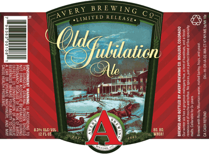 Avery's Old Jubilation Ale