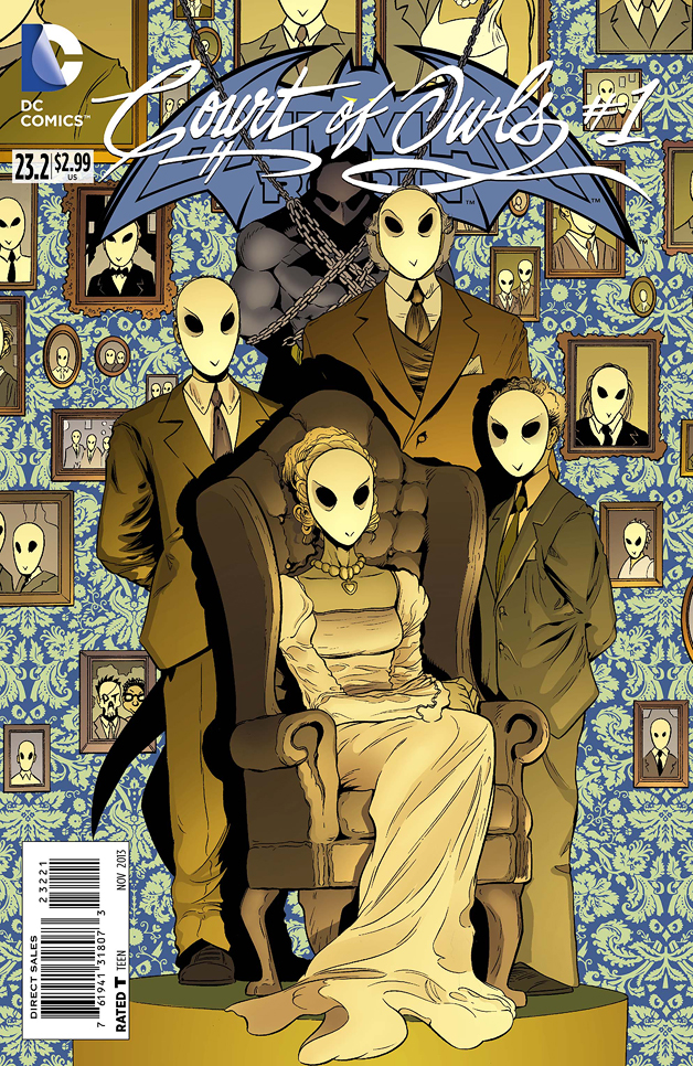 Batman & Robin #23.2: The Court of Owls